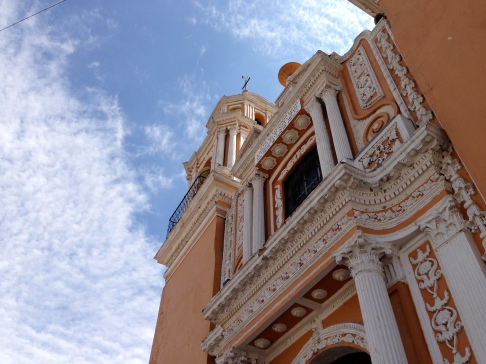 Iglesia Cholula