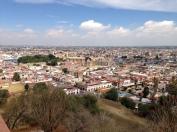 Impresionante vista desde Cholula