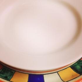 plato de la Casa Reyna