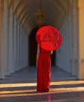 Chinese Red umbrella