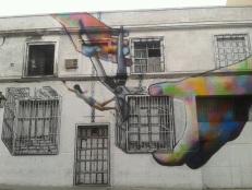 Cutting the window_street art