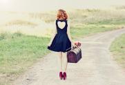 Chloe D - red heels