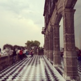 Capultepec Castle chess floor