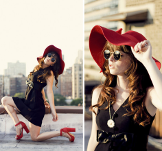 Rachel-Marie Iwanyszyn - red heels
