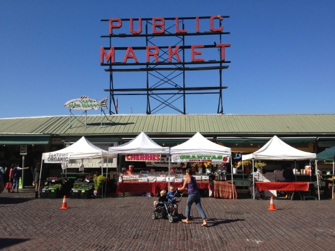 Pike Place Market front
