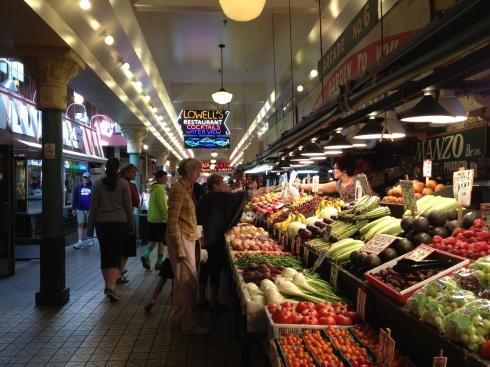Seattle Market Vegetables