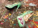 The Studio_Green Art Heels
