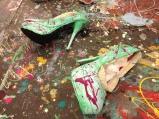 The Studio_Green Art Heels