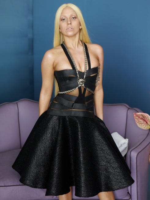 Lady Gaga x Versace 01